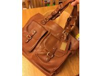 Massimo dutti real leather bag