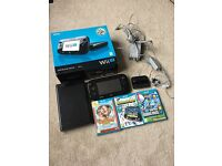 Nintendo Wii U, Premium Pack, 32gb in Black