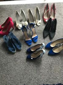 Variety of shoes size 7:8