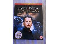 Angels & Demons & The Da vinci Code Bluray DVD Double Pack