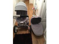Quinny carry cot pushchair and car seat