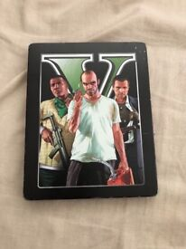 Limited edition GTA V ps3 game for collectors