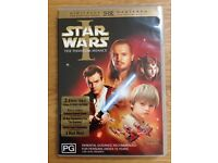 STAR WARS 1 and 2 DVDs from AUSTRALIA (Uncut Versions)
