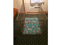 Dog Cage (gold)