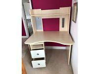 Small desk unit