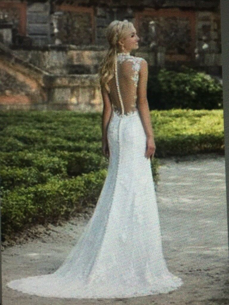 Justin Alexander (3885) Wedding Dress - Perfect Condition Size 12