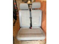 VW T5 Front Bench Seat