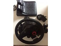 Logitech GT5 Driving Force Wheel PS3 - as NEW