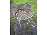 Small garden barbeque grill