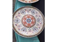 Persian style plates