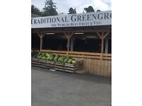 Well established greengrocers shop for sale