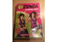 Unopened Zumba Slimdown Party DVD