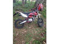 Kurz RT1 road legal pitbike big wheel 125cc / 140cc
