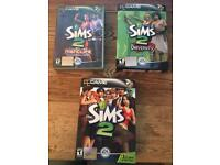 Sims 2 the original, nightlife and university.