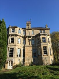 Large 1 Bedroom Flat- Weston Park East, Bath