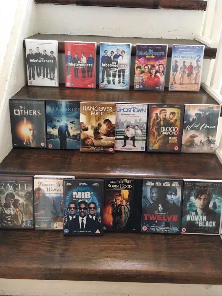 Bargain bundle of DVD's
