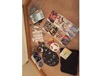 Nintendo Wii bundle including skylanders package, 10 games, fitness board 3 remotes and accessories
