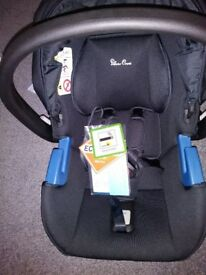BRAND NEW SILVER CROSS CAR SEAT (GROUP 0+)