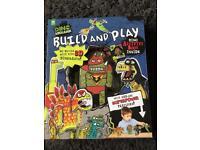 Dinosaur Build & Play set (brand new)