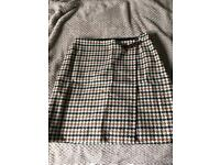 Boden ladies tweed mini skirt size 16L