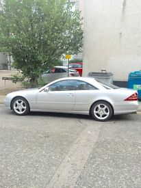 Mercedes cl500. Two owners from new. One years mot. Documented history. Excellent condition.