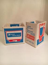 1950's vintage kitchen gadget boxes