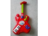 Children's Toy guitar (with batteries)