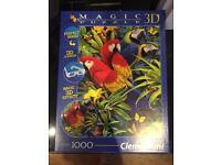 Rainforest jigsaw puzzle