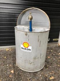 Vintage Parts Washer Paraffin / Oil Dispenser Garage Display