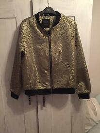 New look honeycomb bomber jacket
