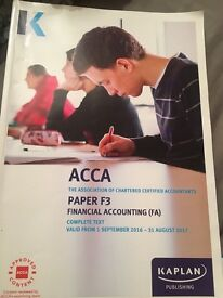 ACCA complete text Book F3 kaplan