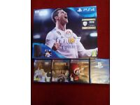 For sale Sony Playstation 4 FIFA 18 bundle pack