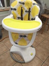 Cosatto 3sixti high chair