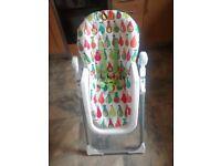 Mamas and Papas Pesto Pear High Chair