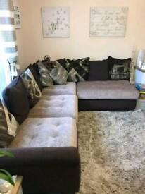 Napier corner sofa and chair