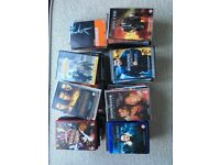 74 assorted DVDs