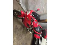 Ducati ST2 1999 low miles with panniers