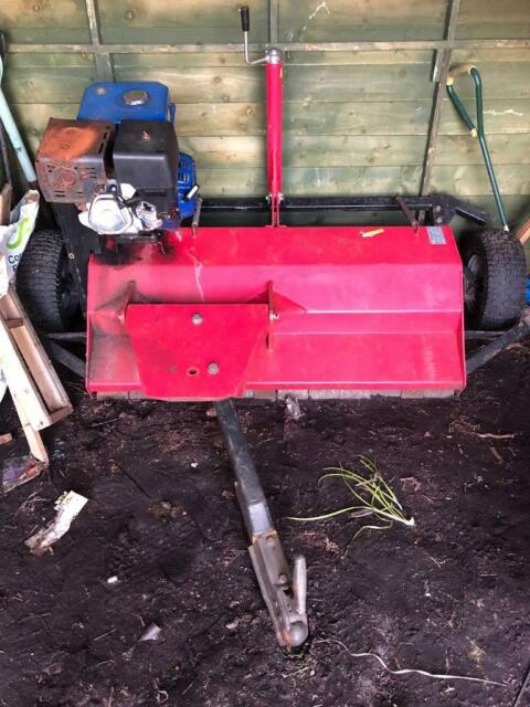 Atv quad or tractor petrol driven flail mower | in Penzance, Cornwall |  Gumtree