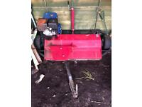 Atv quad or tractor petrol driven flail mower, used for sale  Penzance, Cornwall