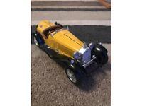 Burago Yellow Alfa Romeo 2300 Spider 1932 for sale!