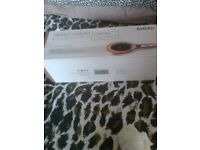 babyliss shiny smooth hair brush straightner new in box