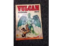 Vulcan Annual 1977 Book rare collectable