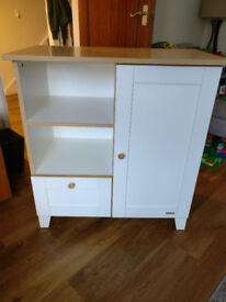Baby changing unit with cot top changer - John Lewis (good condition)