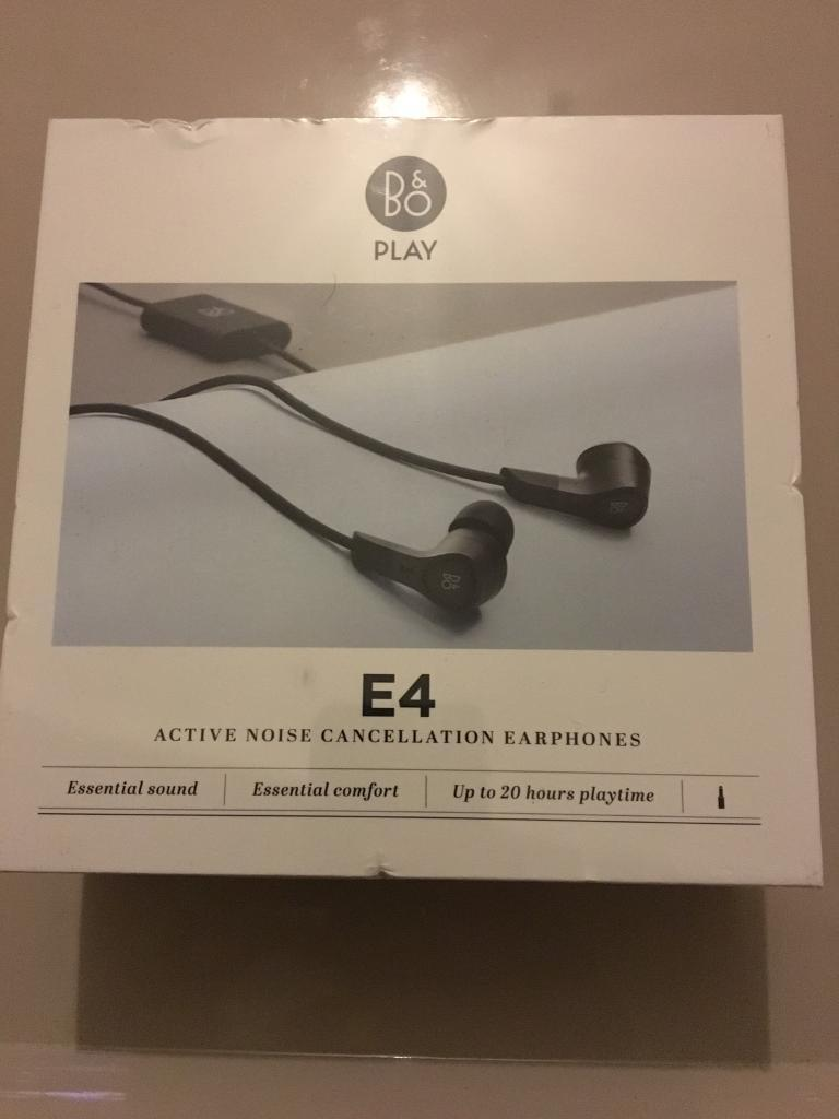 e18ecbfa5f4 B&O Beoplay E4 noise cancelling earphones | in Wirral, Merseyside ...