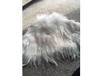 Ivory Feather Shawl BNWT