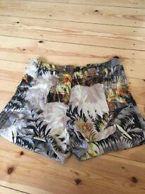Topshop size 8 shorts!