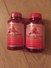 Holland & Barrett raspberry ketone complex CAPSULES .