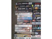 Job lot of mixed genre classic VHS films 43 in total