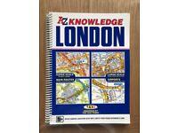 Excellent Condition - London AZ Book Map