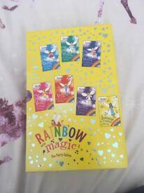 Rainbow fairy books